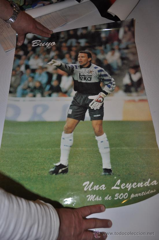 POSTER REAL MADRID BUYO UNA LEYENDA MAS 500 PARTIDOS (Coleccionismo Deportivo - Carteles de Fútbol)