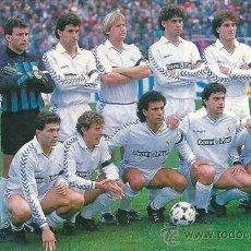 Coleccionismo deportivo: REAL MADRID: RECORTE DE LA TEMPORADA 89-90. Lote 32121114
