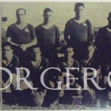 Coleccionismo deportivo: C.E. SABADELL. ALINEACIÓN PARTIDO DE LIGA 1943-1944 EN LA CREU ALTA CONTRA D. CORUÑA. RECORTE. Lote 32726674