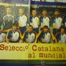 Coleccionismo deportivo: SELECCION CATALANA DE FUTBOL. Lote 32764659