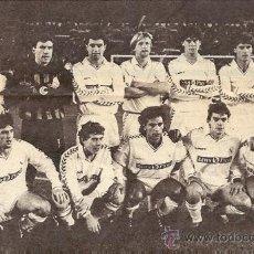 Coleccionismo deportivo: REAL MADRID: RECORTE DE LA TEMPORADA 89-90. Lote 32785583
