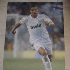 Coleccionismo deportivo: POSTER FUTBOL RONALDO. REAL MADRID. Lote 32885530