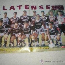Coleccionismo deportivo: POSTER PLATENSE 95-96. Lote 33119783