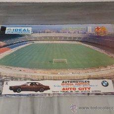 Coleccionismo deportivo: POSTER DEL ESTADIO CAMP NOU DE BARCELONA 1979/80. Lote 33465723