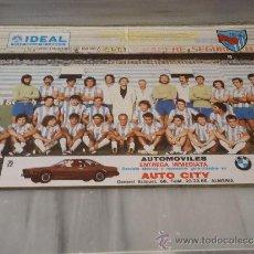 Coleccionismo deportivo: POSTER DEL CLUB DEPORTIVO MALAGA 1979/80. Lote 33465951