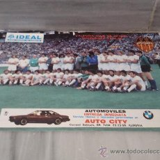 Coleccionismo deportivo: POSTER DEL VALENCIA CLUB DE FUTBOL 1979/80. Lote 33466108