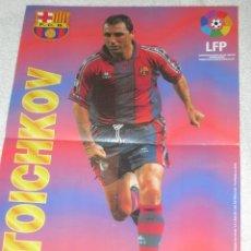 Coleccionismo deportivo: PÓSTER STOICHKOV (BARCELONA). Lote 33936056