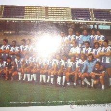 Coleccionismo deportivo: POSTER TAMAÑO FOLIO R.C.D.ESPAÑOL -PUBLICIDAD DE ALMOHADILLAS FLIPPER. Lote 34144053