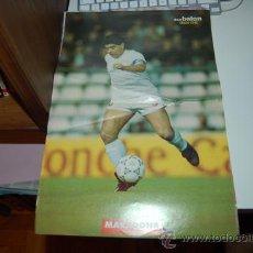 Coleccionismo deportivo: SEVILLA CF: PÓSTER DE DIEGO ARMANDO MARADONA. TEMPORADA 92-93. Lote 64348037