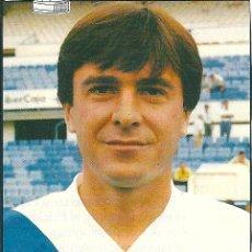 Collezionismo sportivo: REAL ZARAGOZA: RECORTE DE DORIN MATEUT. HACIA 1990. Lote 35057470