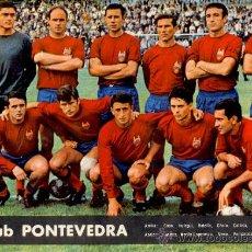 Coleccionismo deportivo: POSTER CLUB PONTEVEDRA FÚTBOL 1964. Lote 35606080