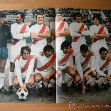 Coleccionismo deportivo: POSTER AS COLOR Nº 159. A.D.RAYO VALLECANO. 1973.74. Lote 35736459