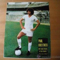 Coleccionismo deportivo: POSTER AS COLOR. PAUL BREITNER. DEL BAYERN MUNICH AL R.MADRID.. Lote 35886477
