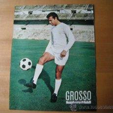 Coleccionismo deportivo: POSTER AS COLOR 1/2 PAGINA. GROSSO. R.MADRID.. Lote 35886608