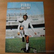 Coleccionismo deportivo: POSTER AS COLOR. PIRRI. R.MADRID.. Lote 35886623
