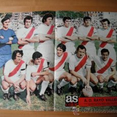 Coleccionismo deportivo: POSTER AS COLOR Nº 103. A.D.RAYO VALLECANO . Lote 36060772