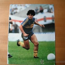 Coleccionismo deportivo: POSTER MARADONA. BOCA JUNIORS.. Lote 36261531