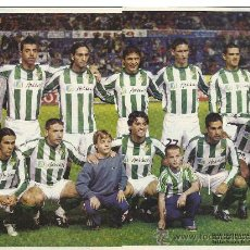 Coleccionismo deportivo: POSTER DE DON BALÓN REAL BETIS BALOMPIE. TEMPORADA 2003/2004. Lote 35834916