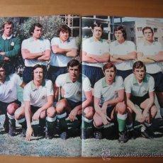 Coleccionismo deportivo: POSTER AS COLOR Nº 184 RACING DE SANTANDER 1974-75. Lote 36720467
