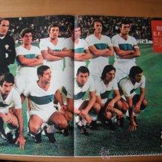 Coleccionismo deportivo: POSTER AS COLOR Nº 121 ELCHE C.F. 1973-74. Lote 36721024