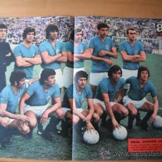 Coleccionismo deportivo: POSTER AS COLOR Nº 150 REAL OVIEDO . 1973-74. Lote 36721210