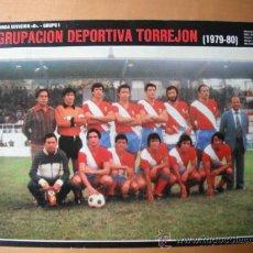 Coleccionismo deportivo: POSTER AS COLOR 1/2 PAGINA. A.D.TORREJON. 1979-80. Lote 36968554