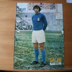 Coleccionismo deportivo: POSTER AS COLOR 1/2 PAGINA. GALAN (REAL OVIEDO) AÑOS 70´. Lote 36968912