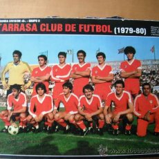 Coleccionismo deportivo: POSTER AS COLOR. 1/2 PAGINA. TARRASA C.F. 79/80. Lote 37186372