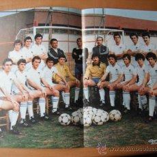 Coleccionismo deportivo: POSTER C.D.MESTALLA. AÑOS 80´. Lote 37614231