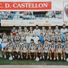 Collectionnisme sportif: MINI POSTER CD CASTELLON 91/92 - DON BALON LIGA 1991/1992 PLANTILLA SEGUNDA DIVISION - . Lote 37061827