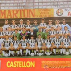 Collectionnisme sportif: MINI POSTER CD CASTELLON 92/93 - DON BALON LIGA 1992/1993 SEGUNDA DIVISION PLANTILLA - . Lote 37067323
