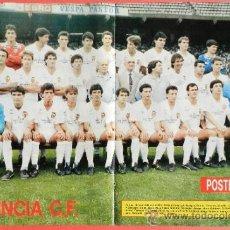 Collectionnisme sportif: POSTER VALENCIA CF 87/88 - REVISTA DON BALON LIGA 1987/1988 FUTBOL PLANTILLA - . Lote 37072190