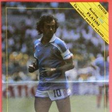 Coleccionismo deportivo: POSTER MICHEL PLATINI (FRANCIA) 1989 REVISTA DON BALON FUTBOL- . Lote 37073635