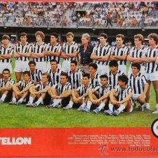 Collectionnisme sportif: MINI POSTER CD CASTELLON 87/88 - REVISTA FUTGOL LIGA 1987/1988 SEGUNDA DIVISION PLANTILLA - . Lote 37082252