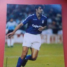 Collectionnisme sportif: 77 - JERKAN (REAL OVIEDO) 93/94 - LAMINA DIARIO 16 LIGA 1993/1994 - FICHA FUTBOL - . Lote 37358844