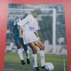 Collezionismo sportivo: 153 - BELODEDICI (VALENCIA CF) 93/94 LAMINA DIARIO 16 LIGA 1993/1994 - FICHA FUTBOL - . Lote 37359763