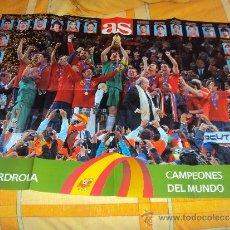 Coleccionismo deportivo: AS. ESPAÑA. CAMPEONES DEL MUNDO 2010.. Lote 37398457