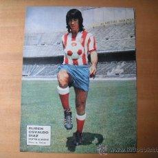 Coleccionismo deportivo: POSTER AS COLOR 1/2 PAGINA. RUBEN OSVALDO. Lote 37620824