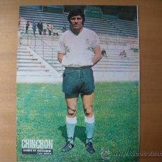 Coleccionismo deportivo: POSTER AS COLOR 1/2 PAGINA. CHINCHON (RACING DE SANTANDER) AÑOS 70´. Lote 88345942