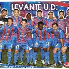 Coleccionismo deportivo: LEVANTE UD 2012 2013. Lote 37627665