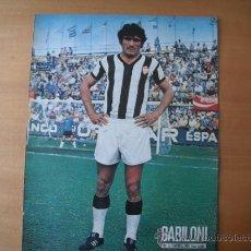 Coleccionismo deportivo: POSTER AS COLOR 1/2 PAGINA. BABILONI. (C.D. CASTELLON.) AÑOS 70´. Lote 195467926