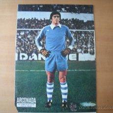 Coleccionismo deportivo: POSTER AS COLOR 1/2 PAGINA. ARCONADA. (REAL SOCIEDAD). AÑOS 70´ . Lote 37628371