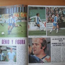 Coleccionismo deportivo: PAGINA AS COLOR. FERNANDEZ AMADO. R.C.D.ESPAÑOL.. Lote 37841613