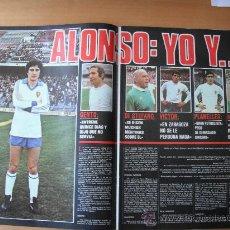 Coleccionismo deportivo: PAGINA AS COLOR. ALONSO. REAL ZARAGOZA.. Lote 37841719