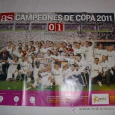 Sammelleidenschaft Sport - ESPECTACULAR POSTER 76X59 CM - REAL MADRID CAMPEON COPA DEL REY 2011 - - 37746574