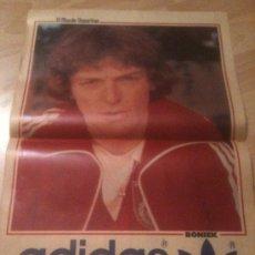 Coleccionismo deportivo: POSTER BONIEK - MUNDIAL 82 - MUNDO DEPORTIVO. Lote 37890619