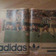 Coleccionismo deportivo: POSTER KEMPES ARGENTINA - VALENCIA - MUNDIAL 82 - MUNDO DEPORTIVO. Lote 37890719