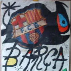 Coleccionismo deportivo: CARTEL POSTER FC BARCELONA 75 ANIVERSARIO ORIGINAL 1974. Lote 37910304