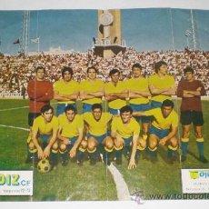 Coleccionismo deportivo: POSTER DE LA PLANTILLA DEL CÁDIZ C.F. LA TORRE DE PREFERENCIA DE FONDO.1972-1973. ORIGINAL DE ÉPOCA.. Lote 38175799