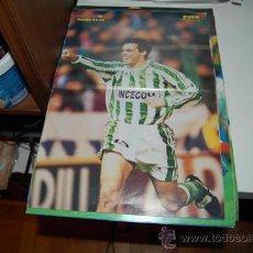Coleccionismo deportivo: REAL BETIS BALOMPIÉ: PÓSTER DE PIER. 1996. Lote 38315522